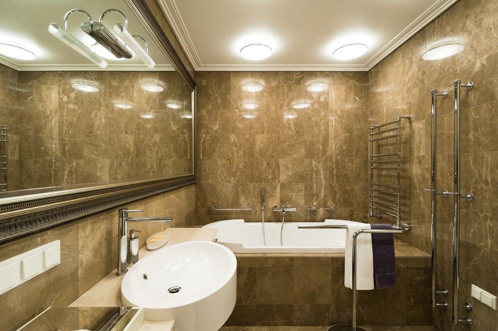 Свет в ванной комнате 3