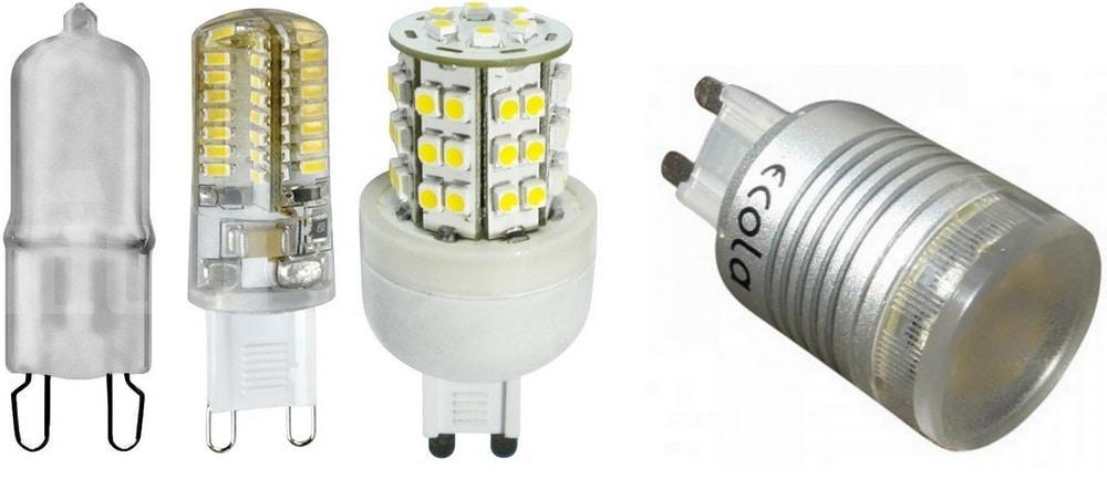 Основные цоколи ламп 2